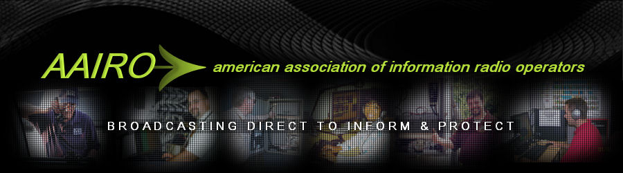 AAIRO American Association of Information Radio Operators